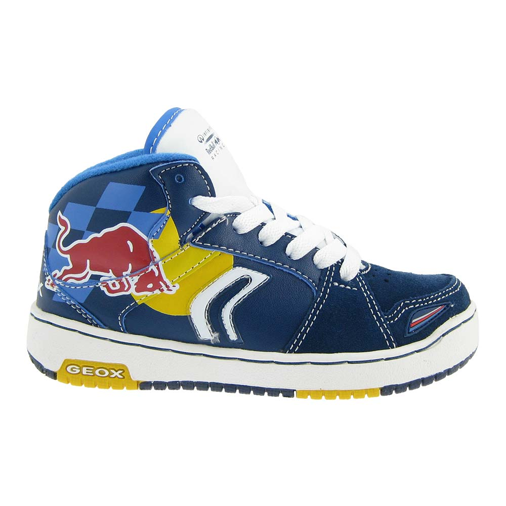 geox racing red bull kinder sneaker jungenschuhe schuhe. Black Bedroom Furniture Sets. Home Design Ideas