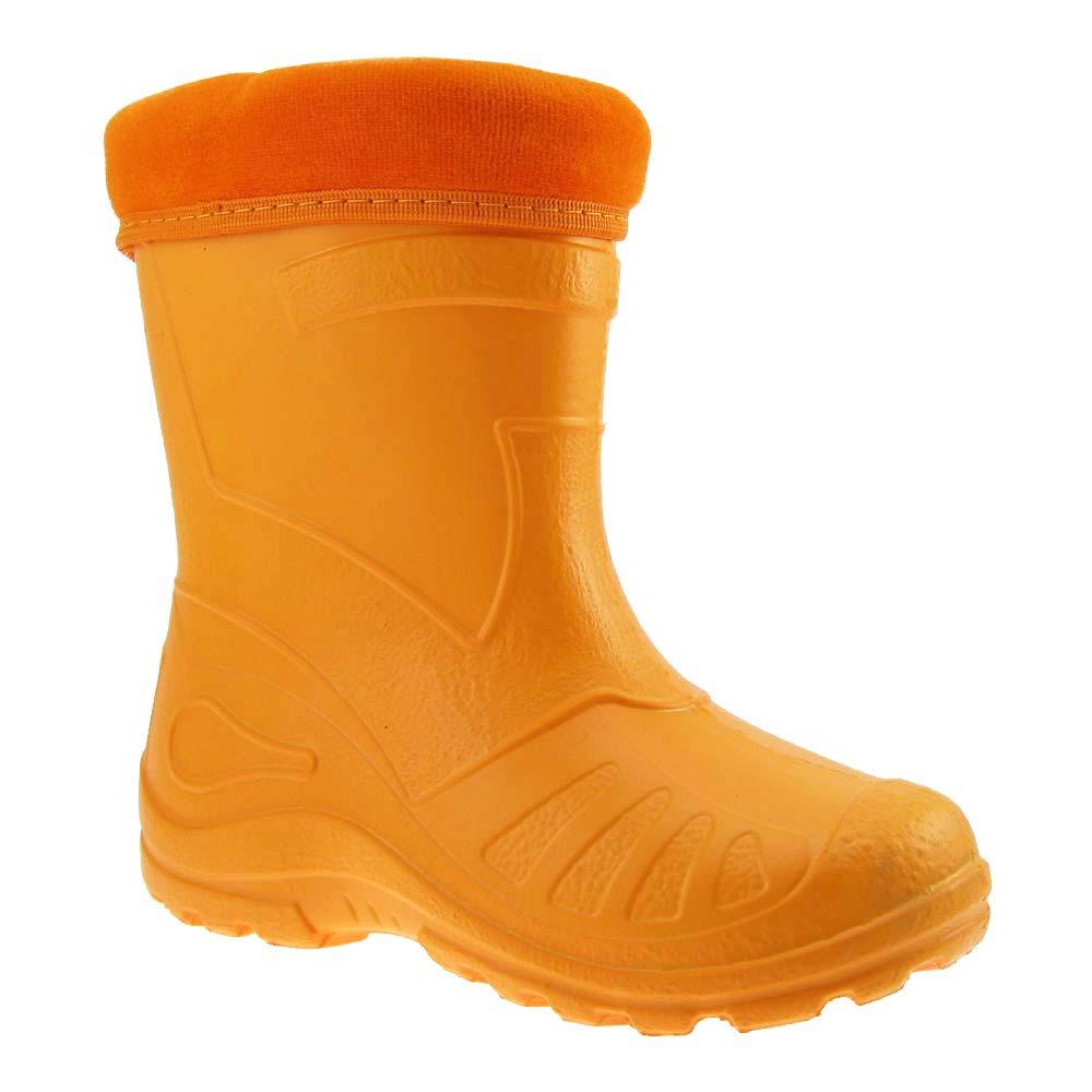 GALLUX-SUPERLEICHTE-EVA-Kinder-Regenstiefel-Gummistiefel-Thermostiefel-gefuettert