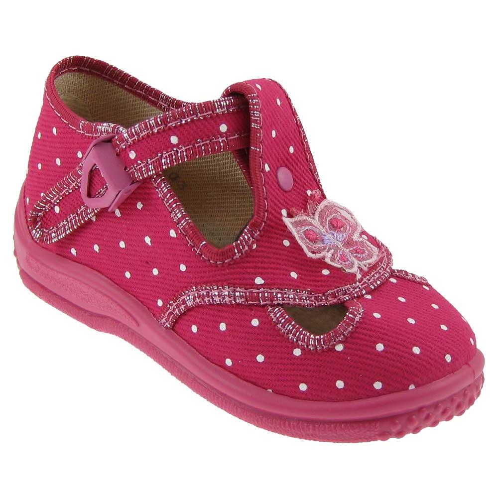 ZETPOL-Maedchen-Hausschuhe-Baby-Schuhe-Kinderschuhe-Kinderhausschuhe-Textil-Neu