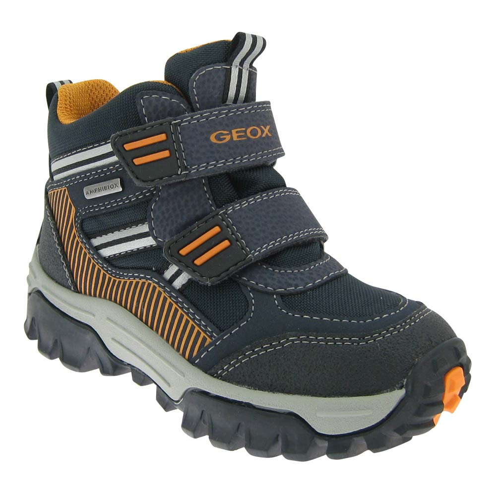 GEOX-AMPHIBIOX-Jungen-Stiefel-Halbschuh-Sneaker-knoechelhoch-warm ...