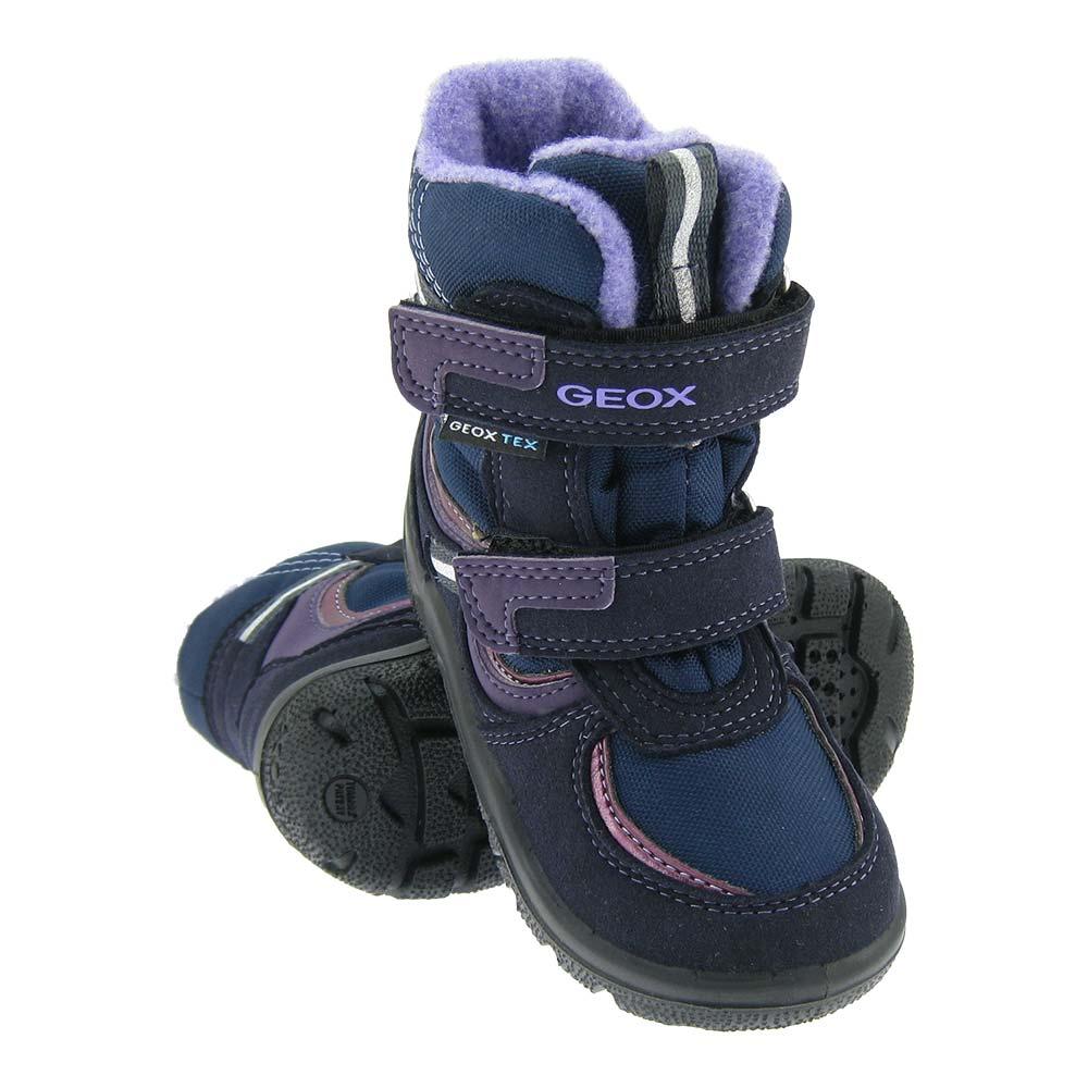 Details zu GEOX TEX Mädchen Stiefel warm gefütterte Winterstiefel Schuhe Boots Klett