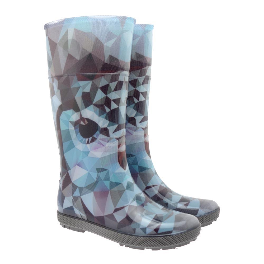 demar pvc rainboots rubber boots boots thigh high boots