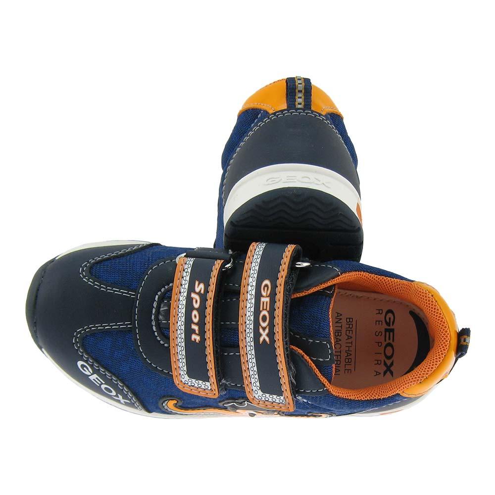 Details zu GEOX BLINKI Sneaker Jungen Kinder Schuhe Halbschuhe Kletter Sport Turnschuhe LED CxCte
