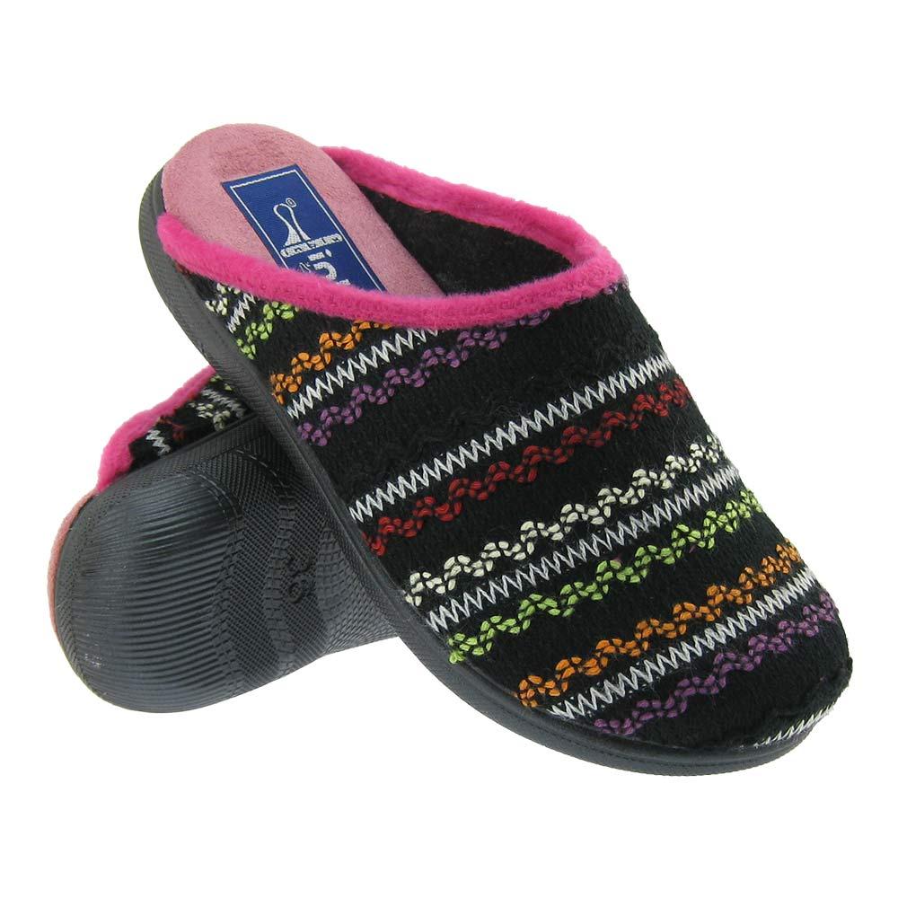 Inblu zapatillas de estar por casa de mujer con suave - Zapatillas de estar en casa de nina ...