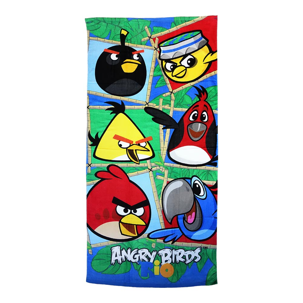 angry birds handtuch