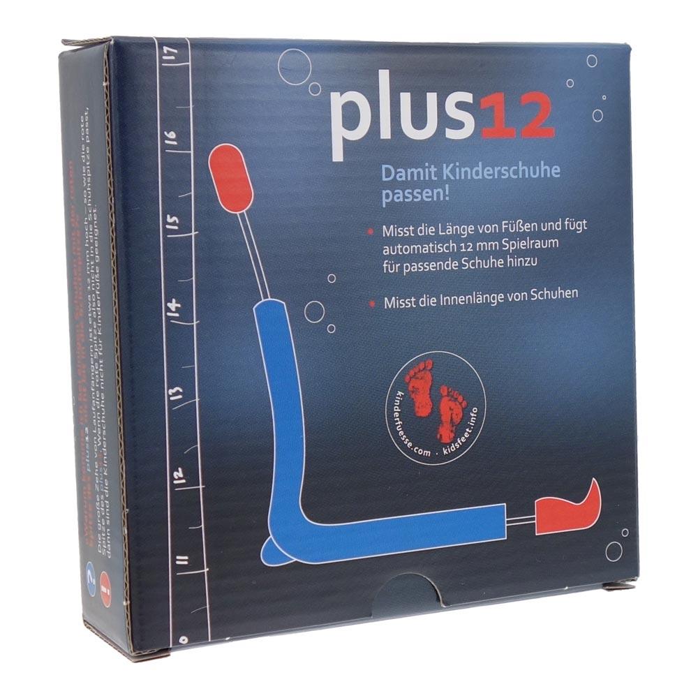Plus12-Fussmessgeraet-Kinderschuh-Fuss-Innenschuh-Messgeraet-Schuhgroessen-18-50-Neu