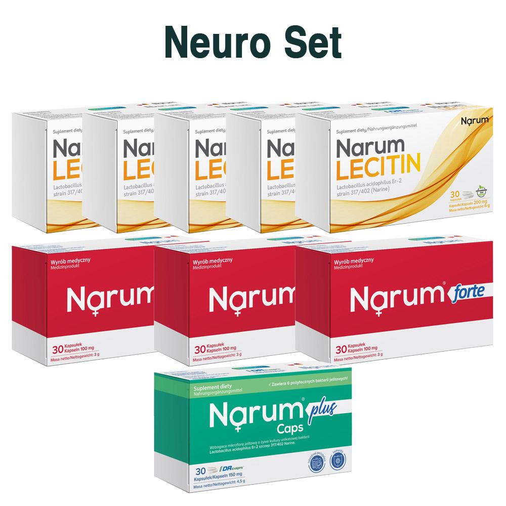 Set Narum auf Basis von Narine - Neuro Set