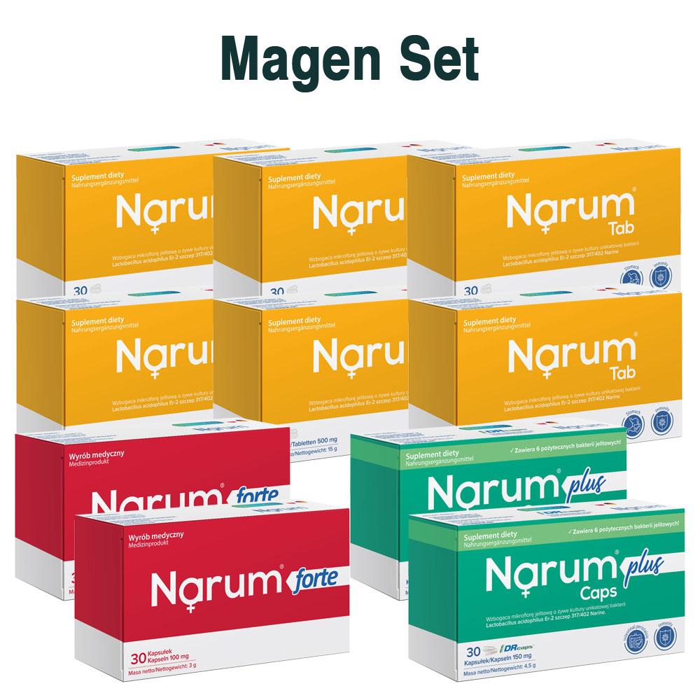Set Narum auf Basis von Narine - Magen Set
