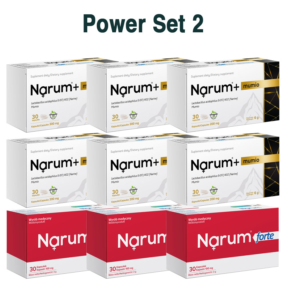Set Narum auf Basis von Narine - Power Set 2