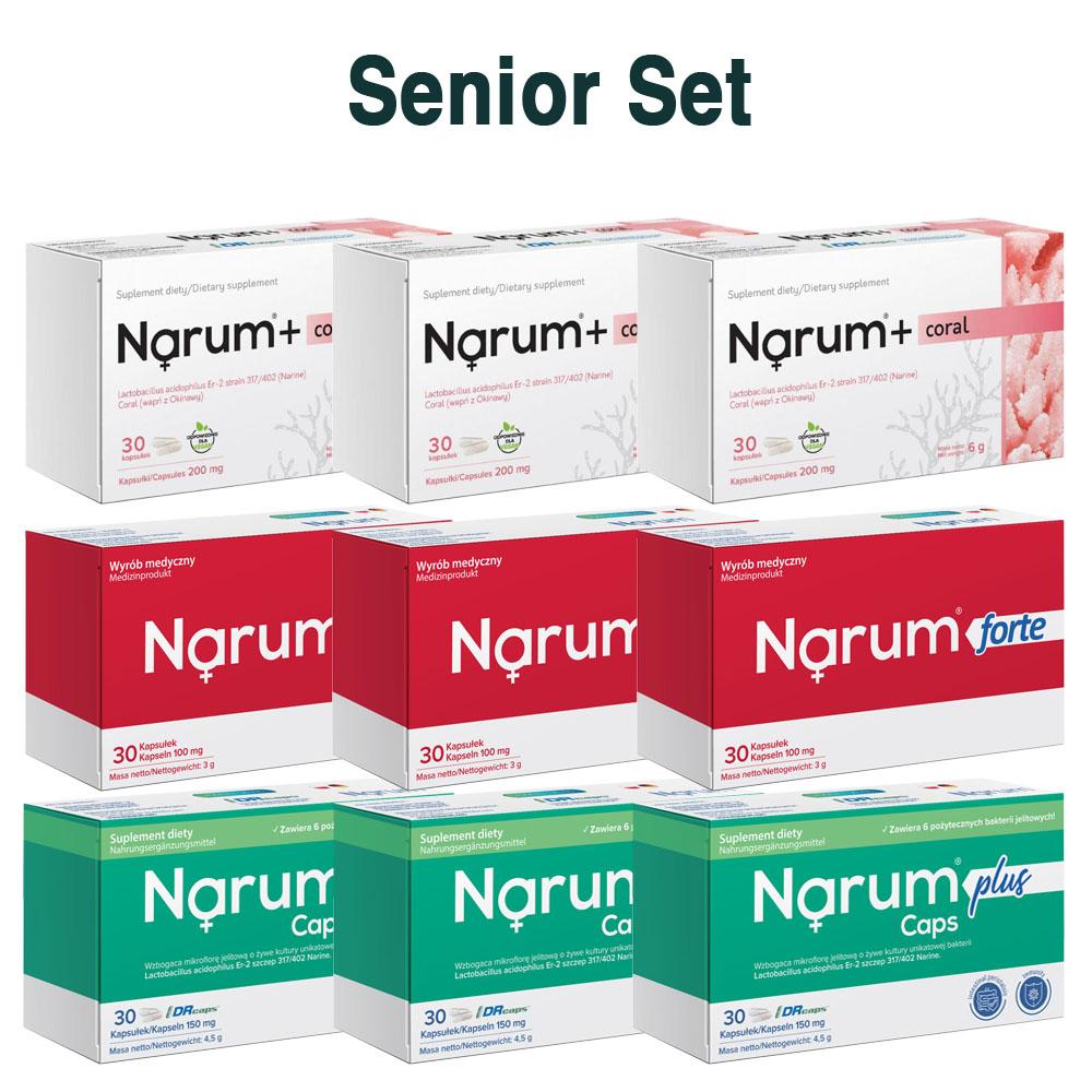 Set Narum auf Basis von Narine - Senior Set