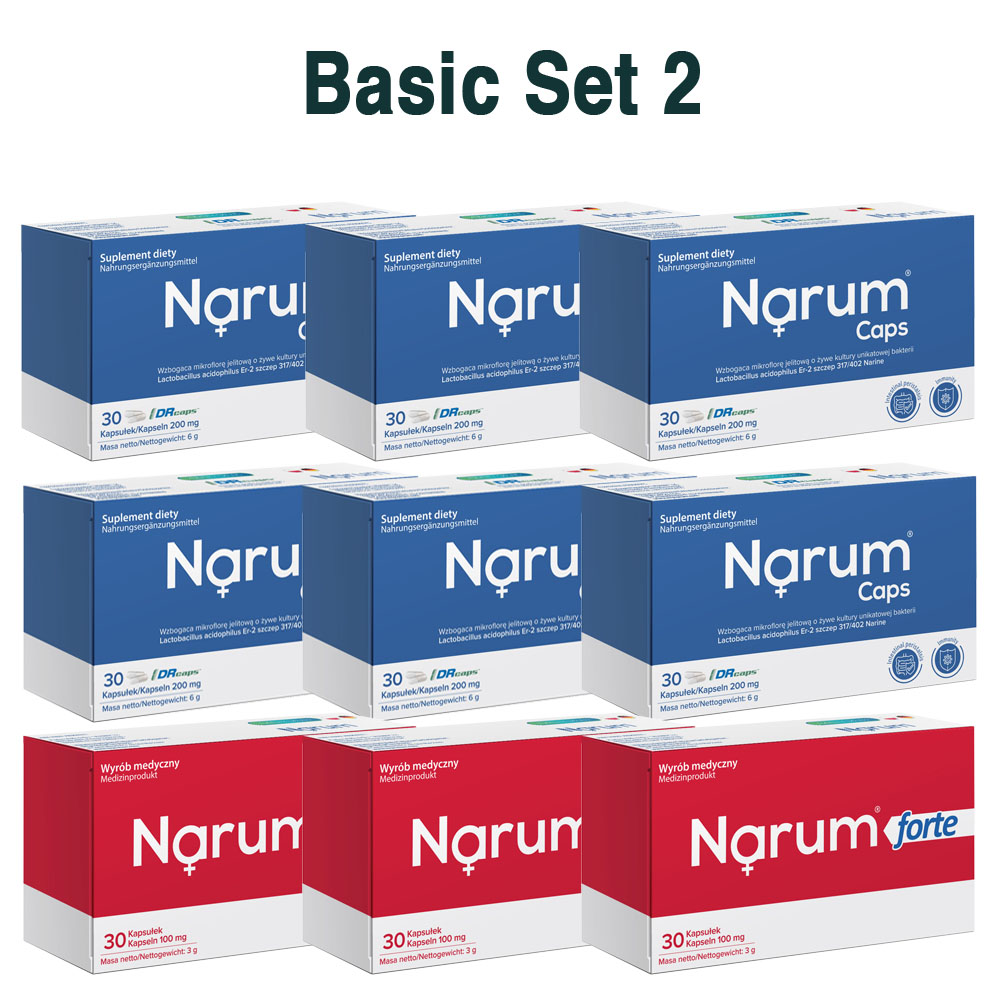 Set Narum auf Basis von Narine - Basic Set 2