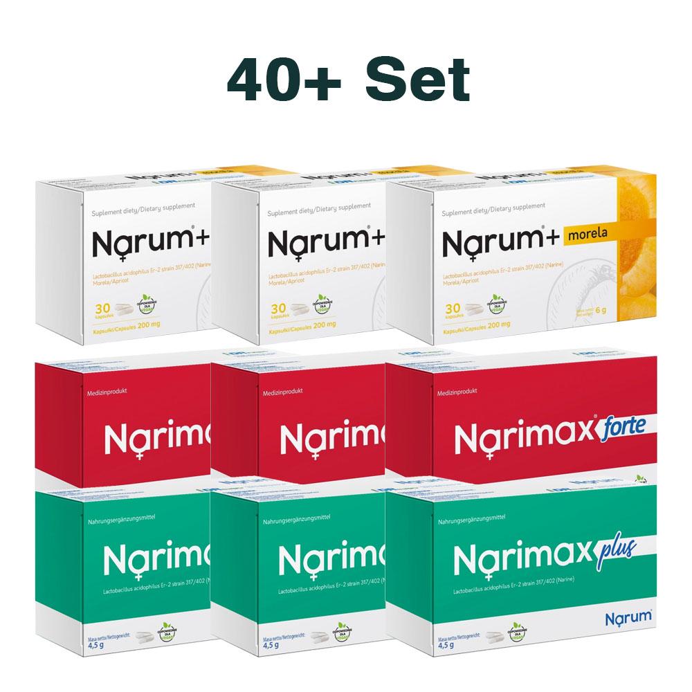Set Narum auf Basis von Narine - Set 40+