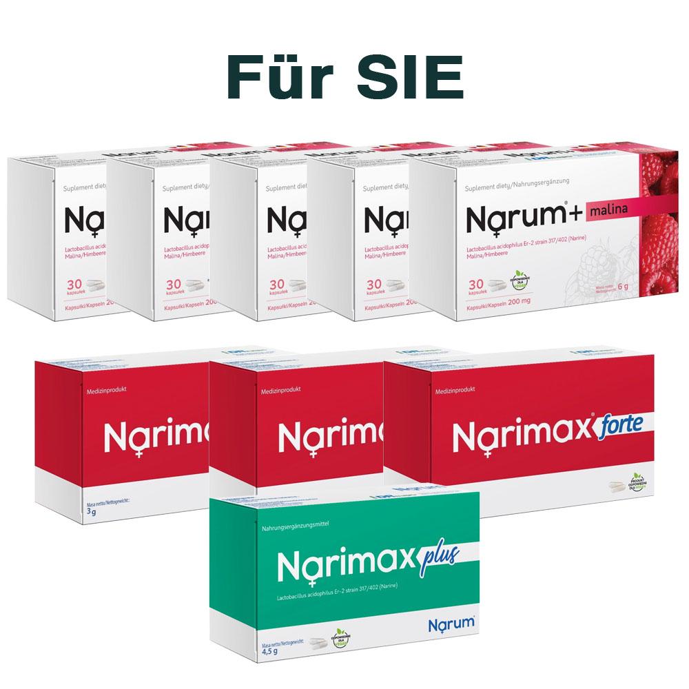 Set Narum auf Basis von Narine - Für Sie