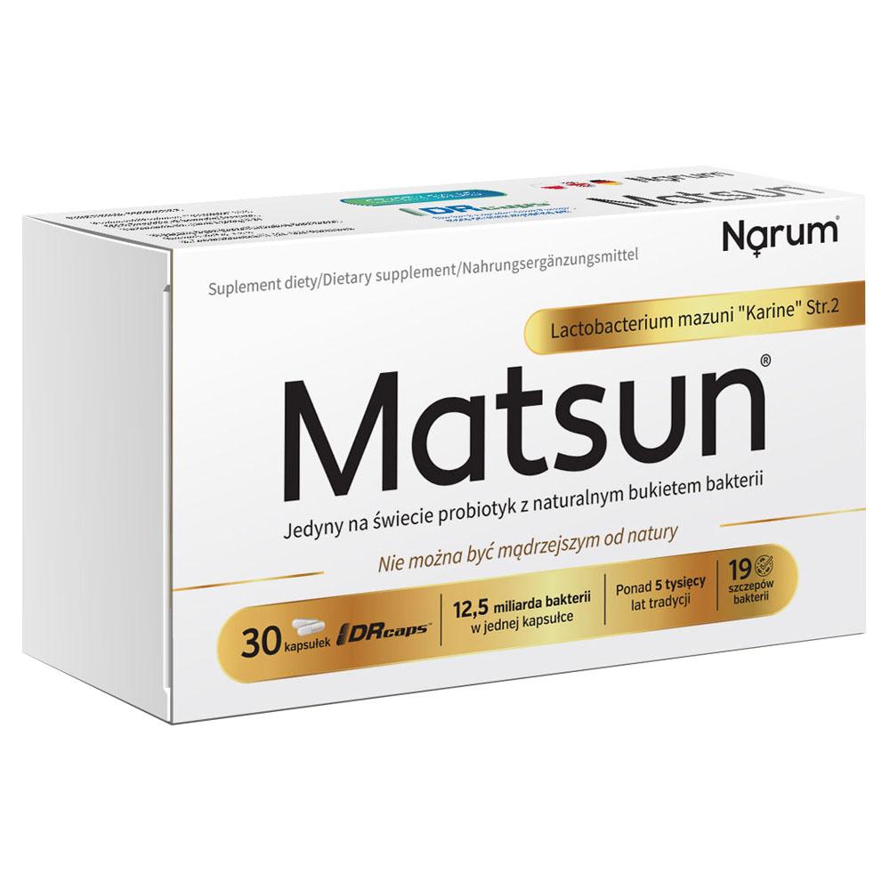 "Matsun Lactobacterium mazuni ""Karine"" Str.2 7,5g, 30 Kapseln"